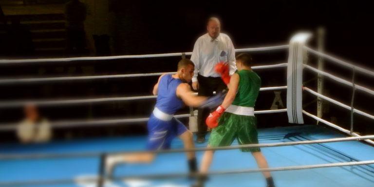 Boxningsgala i Eriksdalshallen