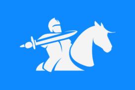 Ett bemanningsföretags logotyp och webbplats