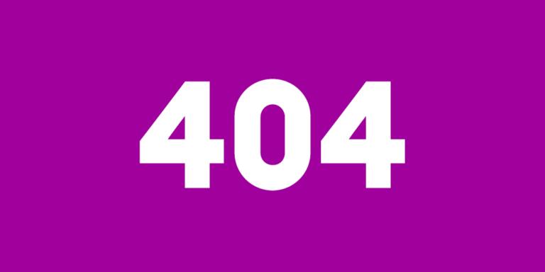 404 behöver inte vara sista sidan på webbplatsen